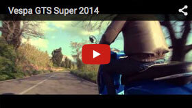YouTube Vespa GTS Super 2014