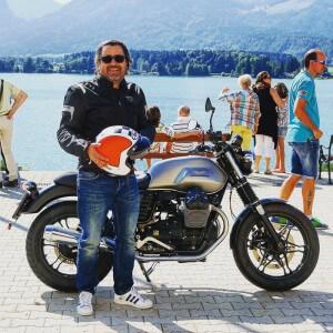 Moto Guzzi V7 II Stone by Christoph Cecerle eaglepowder.com Social Media Agentur Wien