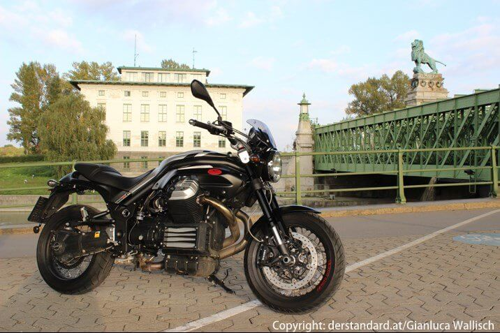 Moto Guzzi Griso by derstandard.at/Gianluca Wallisch