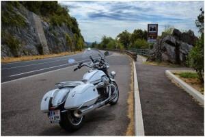 Moto Guzzi California Homolka Triest