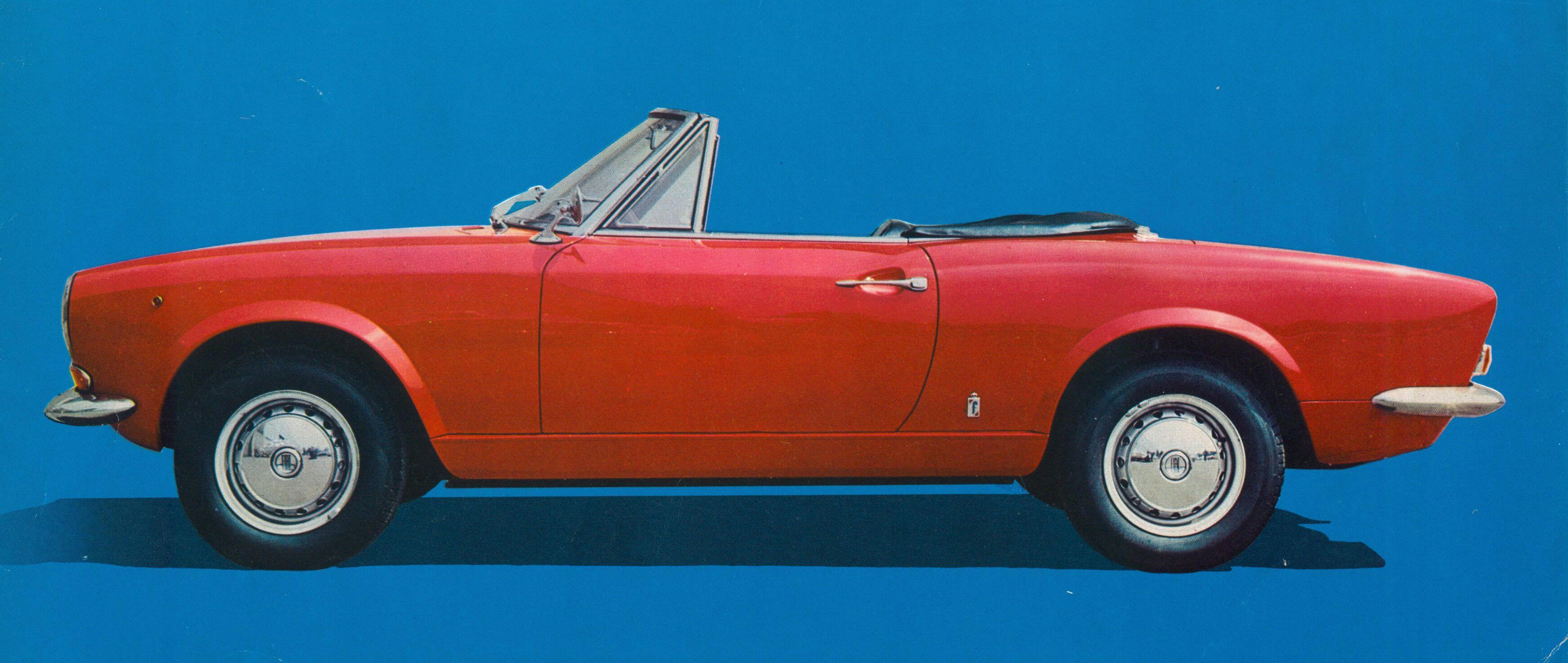 50 Jahre Fiat 124 Sport Spider Ein Jubilum 1970 Convertible