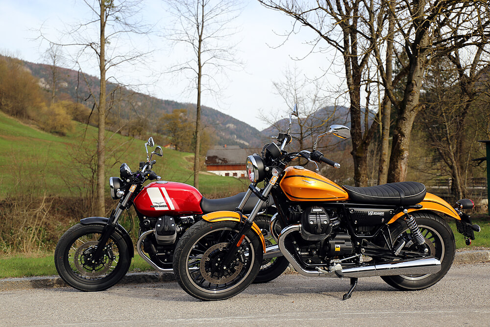 Moto Guzzi V7 & V9