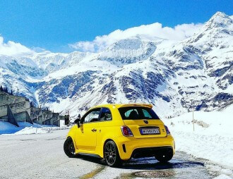 Abarth 695 Biposto Record eaglepowder.com Christoph Cecerle mipiace.at