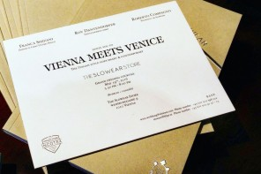 Vienna meets Venice – The Slowear Store