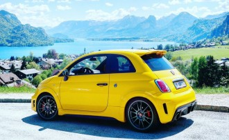 Abarth 695 Biposto Record Christoph Cecerle mipiace.at