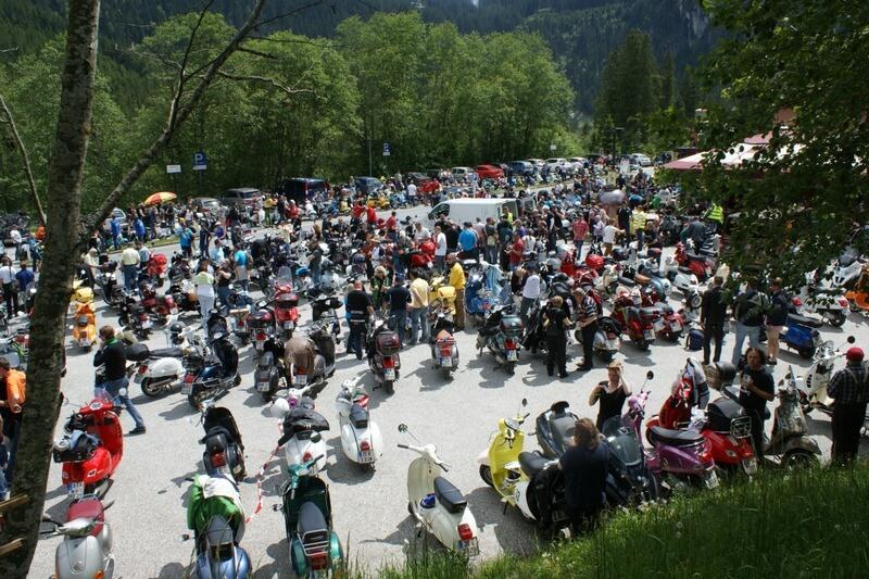 Vespa Alp Days 2016 Zell am See