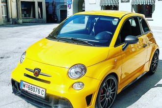 Abarth 695 Biposto Record by eaglepowder.com for mipiace.at