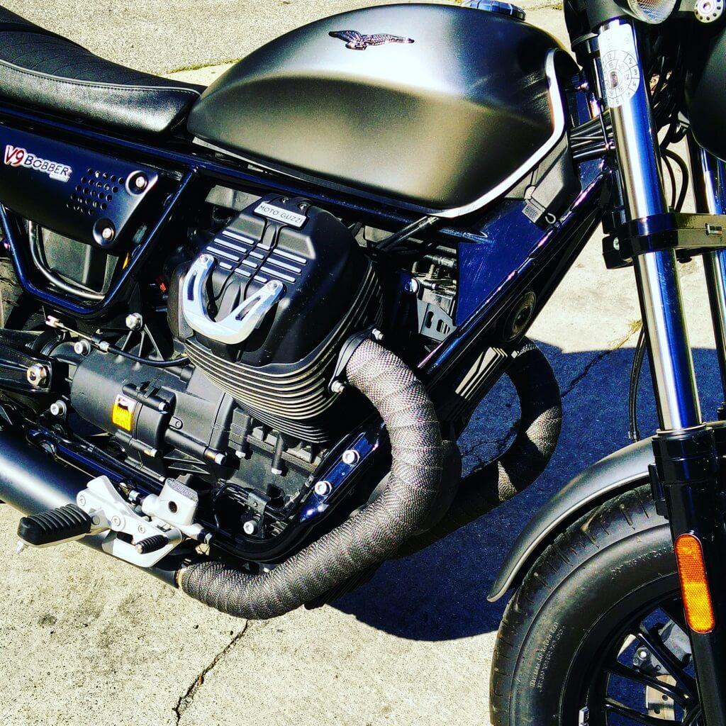 ÖAMTC Fahrtechnik Moto Guzzi V9 Bobber by eaglepowder.com for mipiace.at
