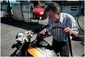 Auf der Flucht – Moto Guzzi V9 Bobber
