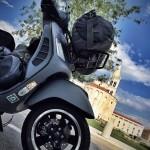 Vespa GTS 300 Super Sport, Zadar Kroatien, Copyright by MarLa