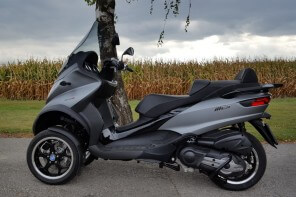 Leser testen: Rene Billiani auf Piaggio MP3 500ie Sport