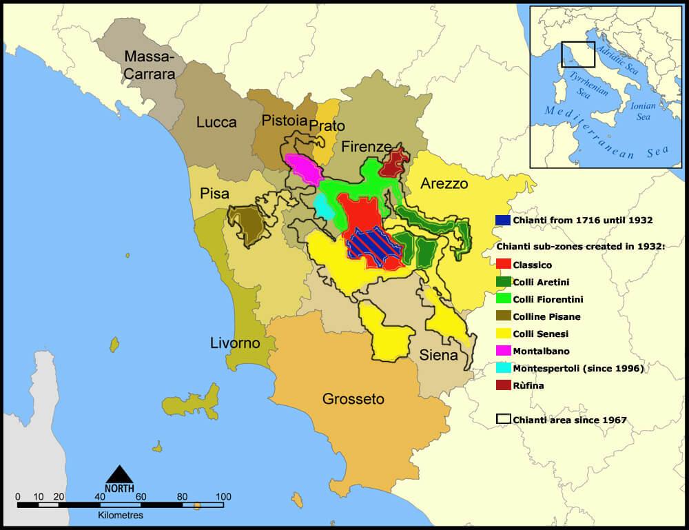 Weinbaugebiet Chianti