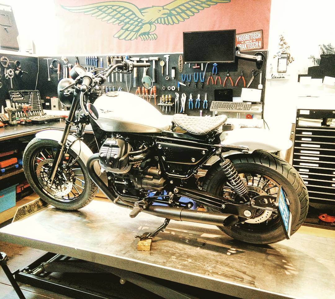 Siegi Prugger Moto Guzzi Custom Weiz by Eaglepowder.com for mipiace.at