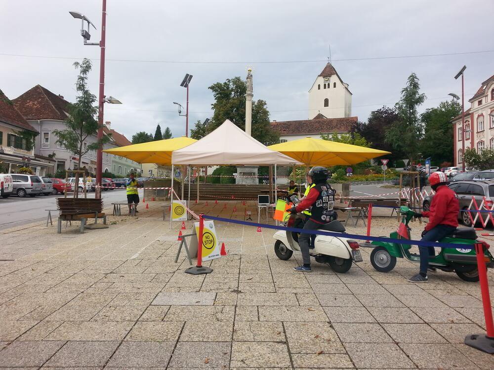 7th Austrian Vespa Rally Weiz