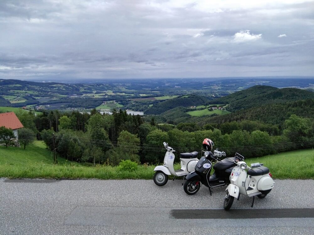 7th Austrian Vespa Rally Weiz