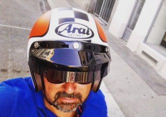 Arai Freeway 2 Helmet Christoph Cecerle eaglepowder.com Social Media Agentur Wien