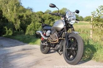 Moto Guzzi V7 II Scrambler by DerStandard.at/Gianluca Wallisch