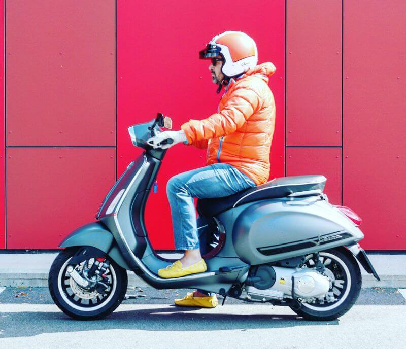 Vespa Sprint Akrapovic Malossi by eaglepowder.com Social Media Agentur Wien