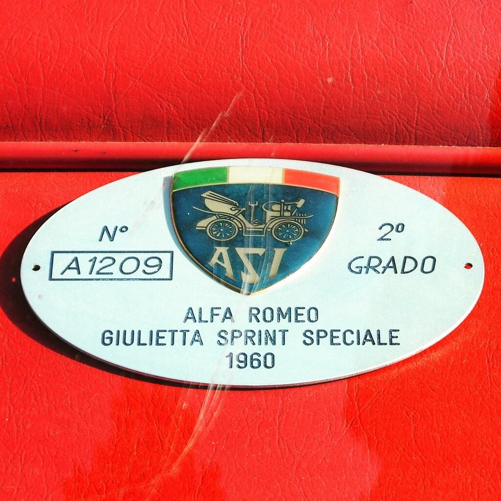 Alfa Romeo Giulietta Sprint Speciale 1960 by Christoph Cecerle eaglepowder.com for mipiace.at