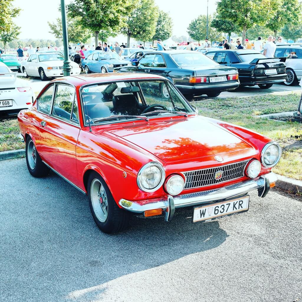 Abarth 850 Coupe by Christoph Cecerle eaglepowder.com for mipiace.at