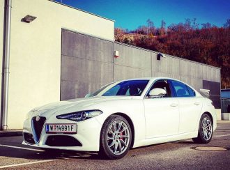 Alfa Romeo Giulia Super by eaglepowder.com Christoph Cecerle for mipiace.at