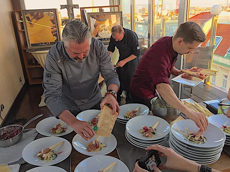 Prosciutto di San Daniele & Grana Padano zu Gast in Wien
