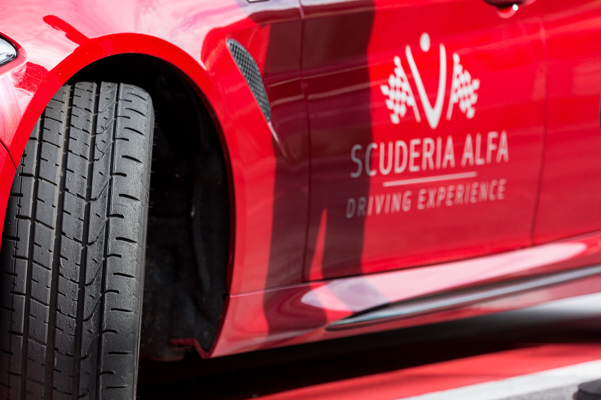 Alfa Romeo Stelvio Scuderia Alfa Romeo Giulia Red Bull Ring