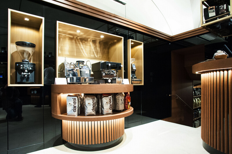 Macchiarte Design Store Espresso foto by eidos architects