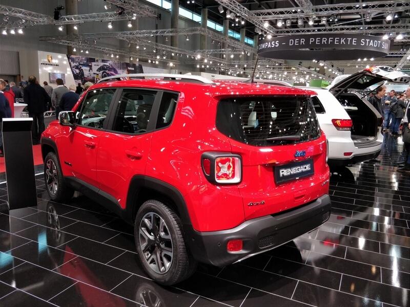 Jeep Renegade Fiat Gruppe Austria