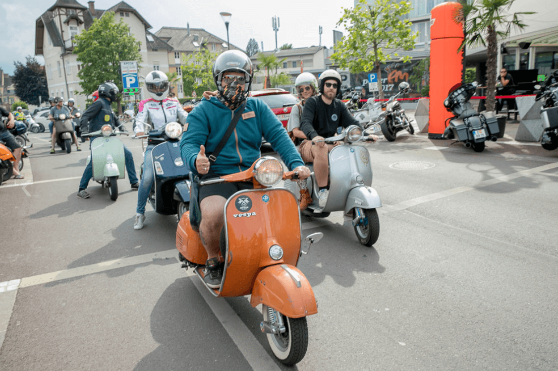 2. Vespa Days Pörtschach