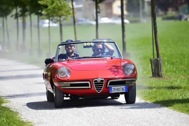 Ennstal Classic 2018 Mipiace.at Christoph Cecerle Alfa Romeo Duetto 1966