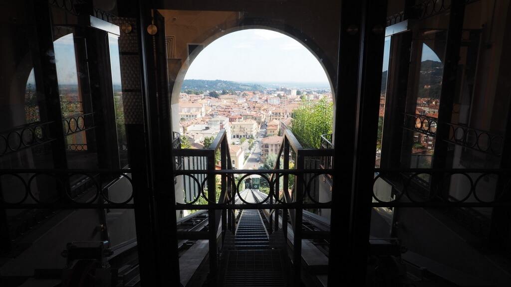 Biella Aufzug Piemont