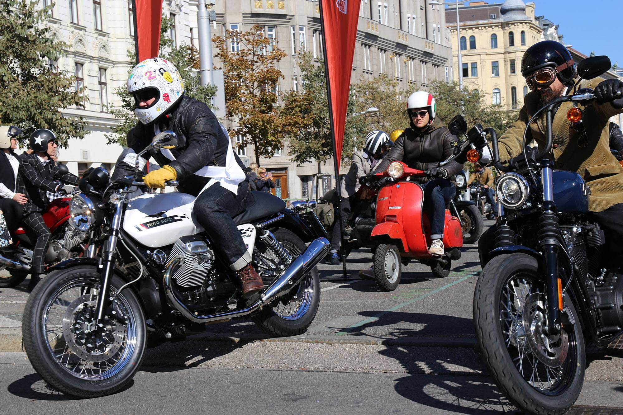 Distinguished Gentleman´s Ride 2018 Vienna Mipiace.at