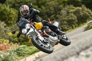 Moto Guzzi V85 TT Test