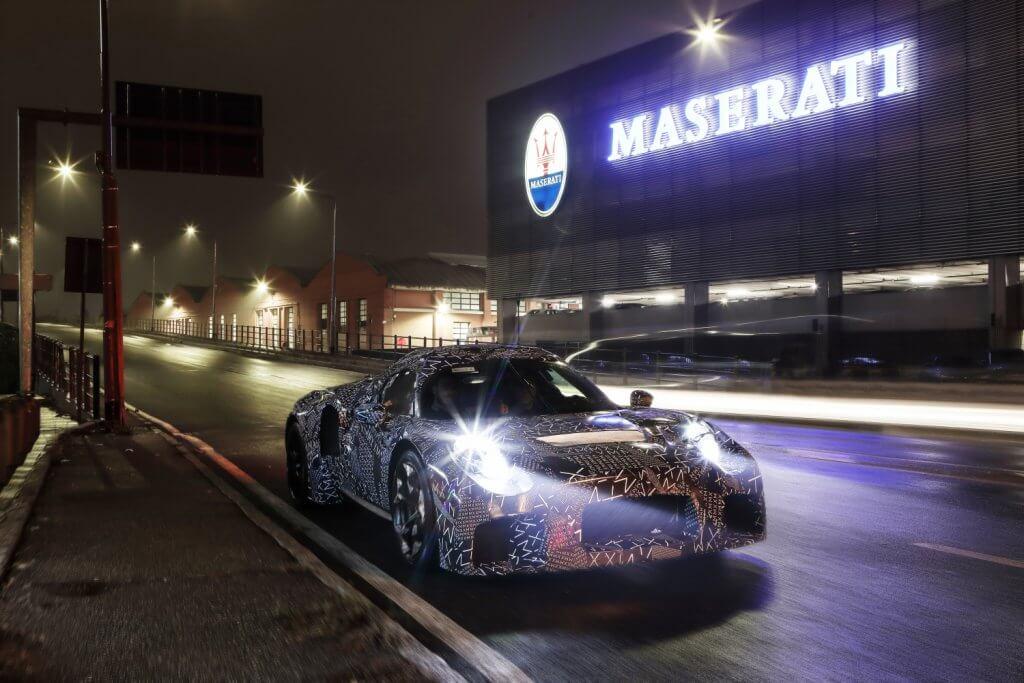 Maserati Erlkönig Modena