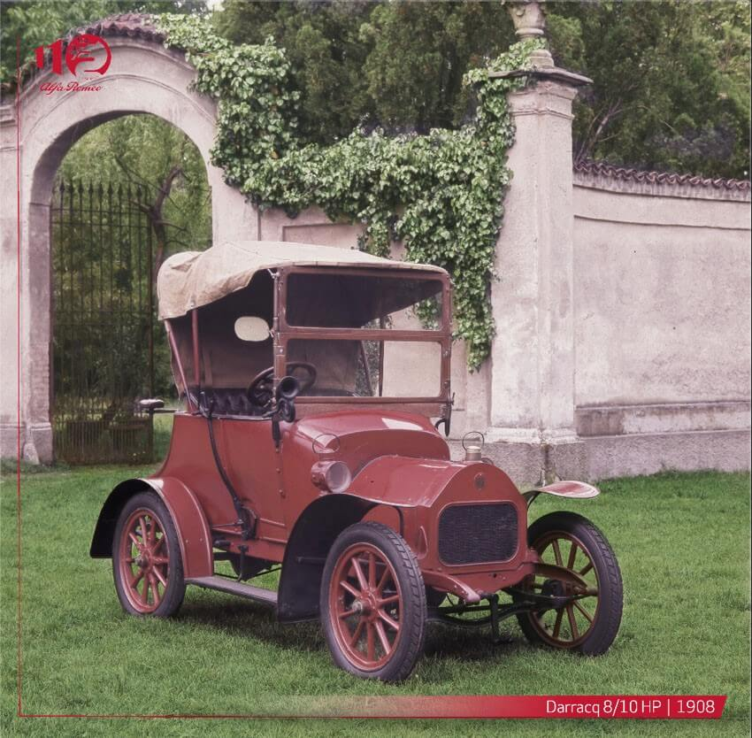 Alfa Romeo Durracq 8/10 HP